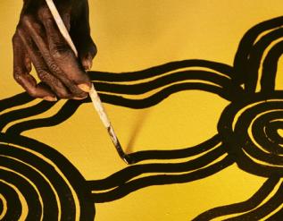 The Guardian discusses Australian Aboriginal art