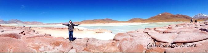 Muito frio e muita beleza - Piedras Rojas - Deserto do Atacama