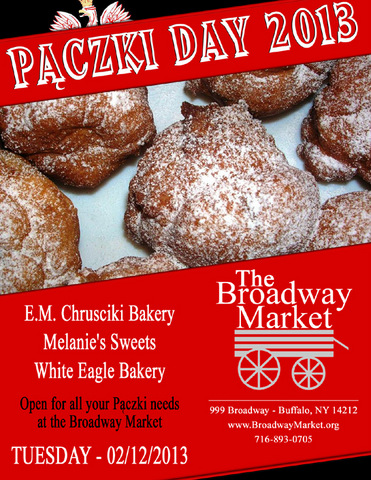 Pączki Day 2013 @ the Broadway Market, 02/12/2013