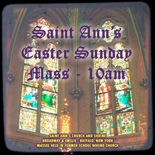 Saint Ann's Easter!