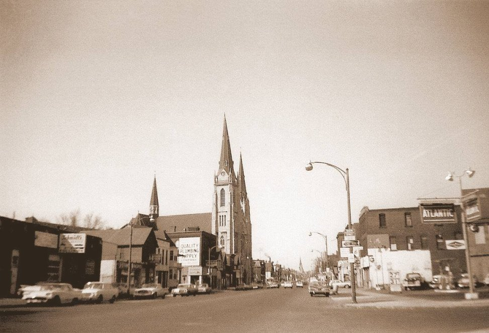 Saint Ann's Church and Shrine early 1960s