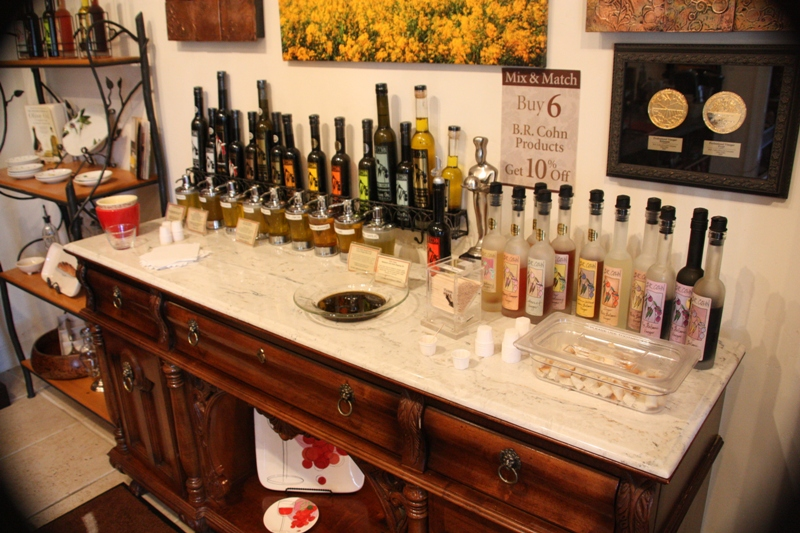 Olive Oil Tasting in Napa (1/4)