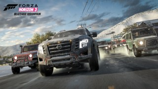 Lead Truck in Forza Horizon 3 Blizzard Mountain Expansion