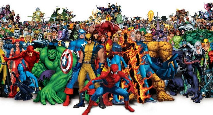 Marvel+Superheroes+to+Power