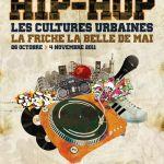"""affiche """"HIP-HOP"""" Les cultures urbaines -La friche la belle de mai"""