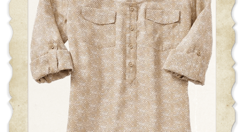 Summer Staple: Chiffon Camp Shirt