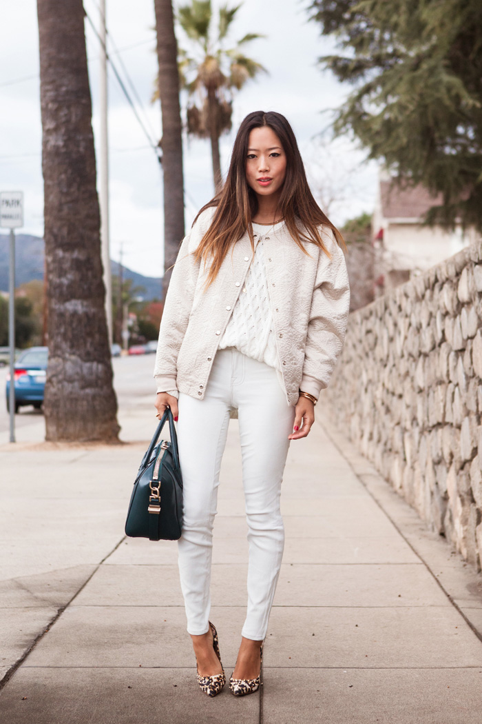 White with Leopard Print Trend