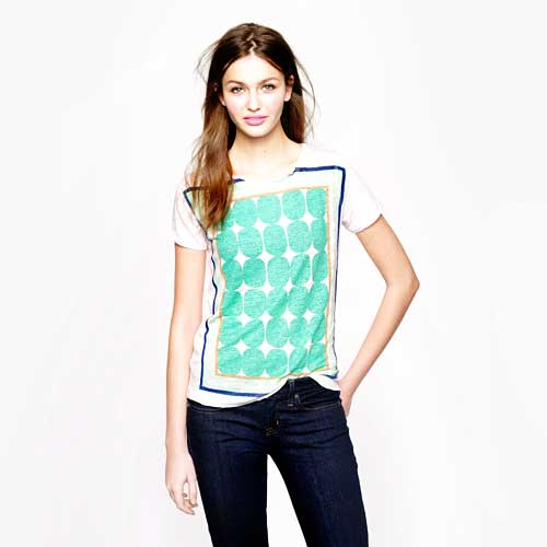Graphic Tee Club: J. Crew Pop Art Dot Shirt