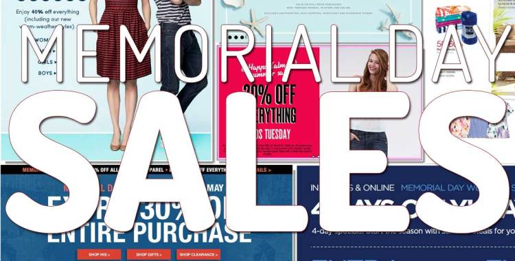 Sale-Mania: Memorial Day Weekend