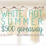 The Boohoo Giveaway Winner is…