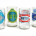 Daily Deal: Upcycled Water Glasses