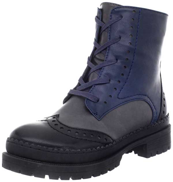 Wanted Blue Harper Boots
