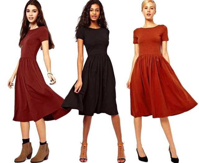 Daily Deal: ASOS Short Sleeve Midi Dress
