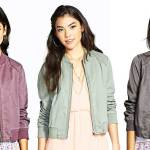 Daily Deal: Rubbish Twill Bomber Jacket