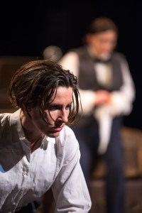 Broken Crow's toast of the pre-war scene. A NEW PLAY BY AIDEEN WYLDE, STARRING AIDEEN WYLDE & GEORGE HANOVER CO-DIRECTED BY VERONICA COBURN & BRYAN BURROUGHS, MUSICAL DIRECTION BY JOHN O'BRIEN | LYRICS BY GER FITZGIBBON. phot. Marcin Lewandowski / soundofphotography.com ©