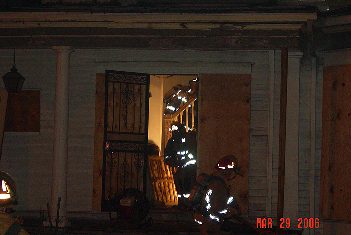Fire at the Frankfort Avenue House in 2006