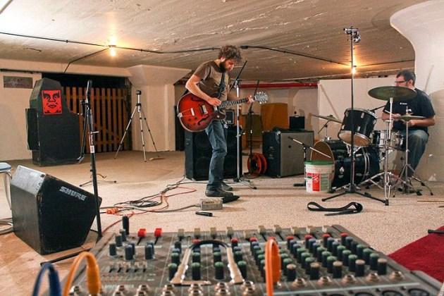 Inside the music studio (Courtesy Ice Box Co Labs)