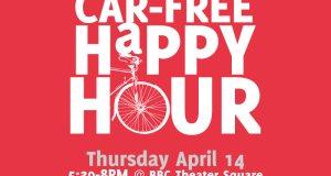 Car-Free Happy Hour on Thursday, April 14