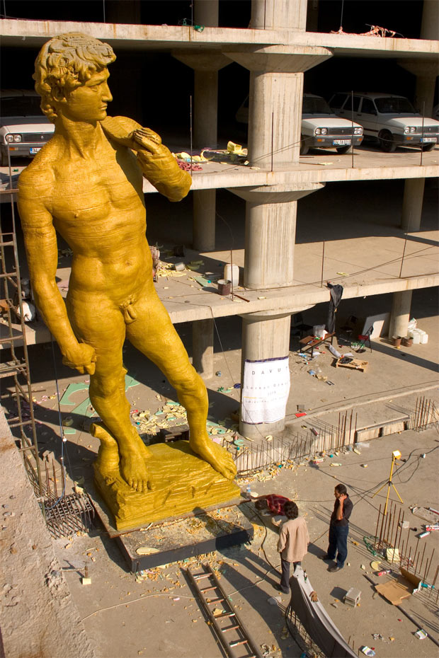 The original David (inspired by Michelangelo) (Courtesy Wikipedia)