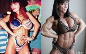 The image female bodybuilders clitoris steroid and