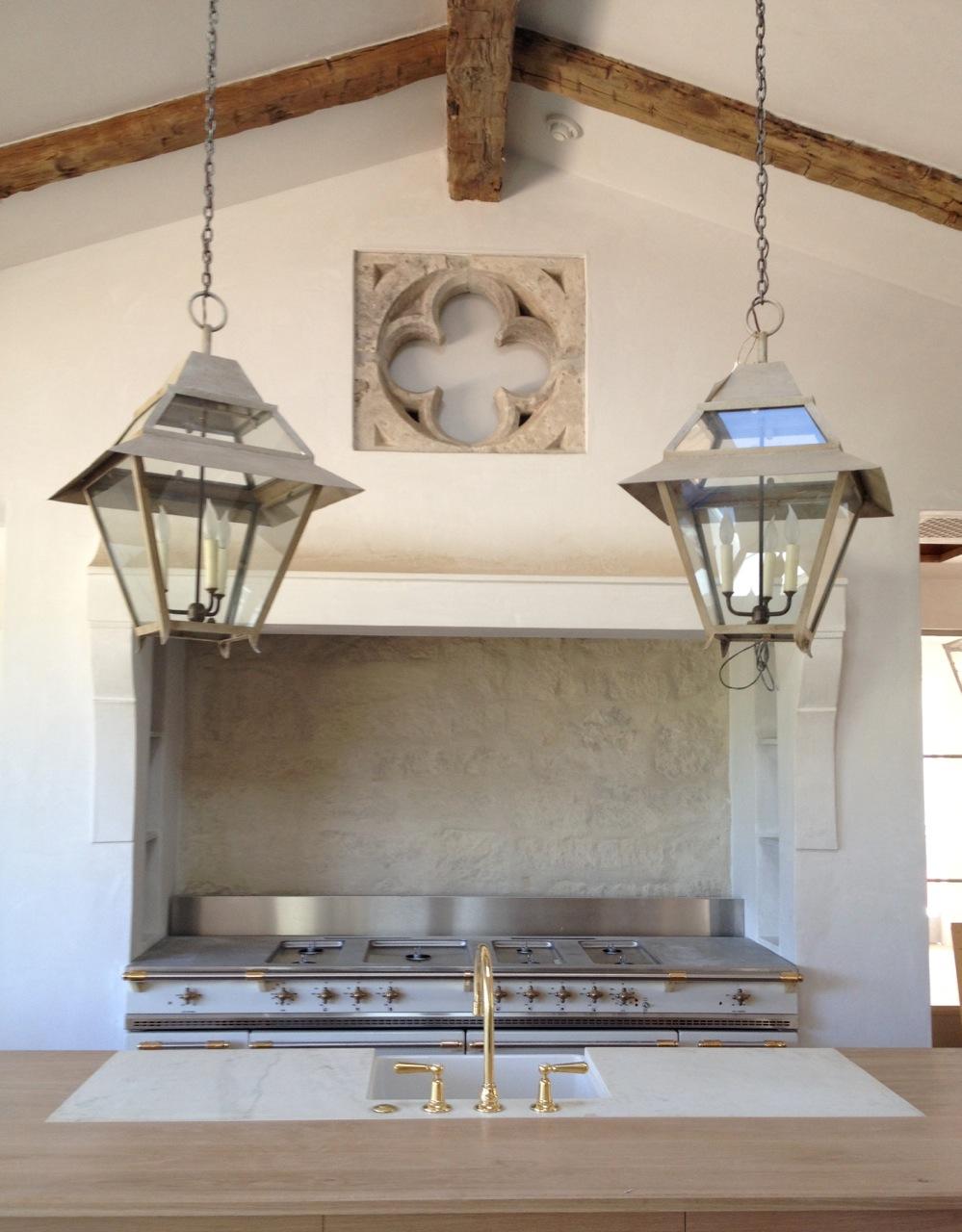 patina farm update kitchen lights plumbing fixtures and marble kitchen lantern lights IMG