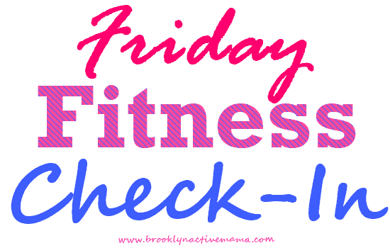 Friday Fitness Check In – The Sicky Blues