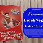 NEW Dannon Danimals Greek Yogurt For Kids + Giveaway