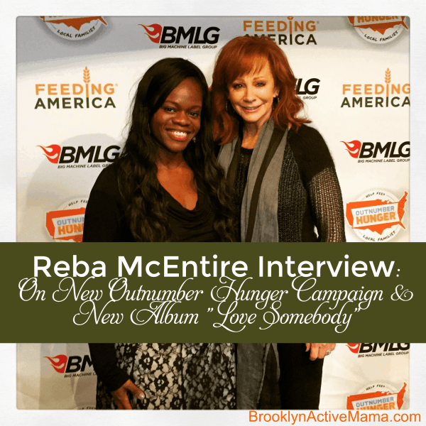"Reba McEntire Interview: On New Outnumber Hunger Campaign & New Album ""Love Somebody"""