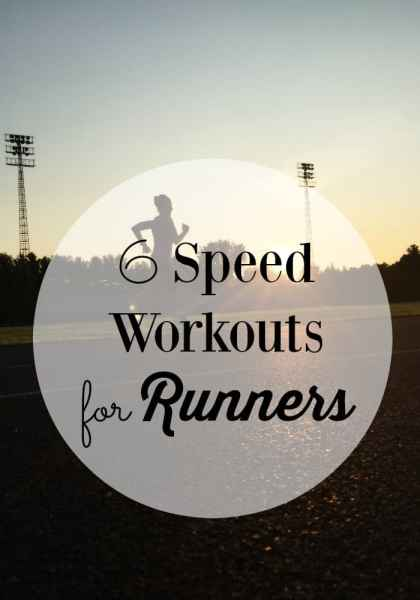 Speed Workouts For Runners