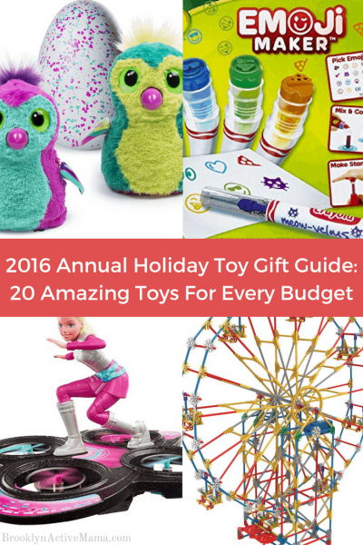 2016 Annual Holiday Toy Gift Guide: 20 Amazing Toys For Every Budget