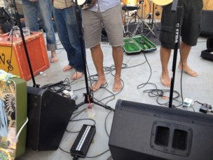 Whiskey Shivers' manly footwear