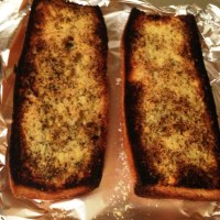 Butterless Garlic Bread