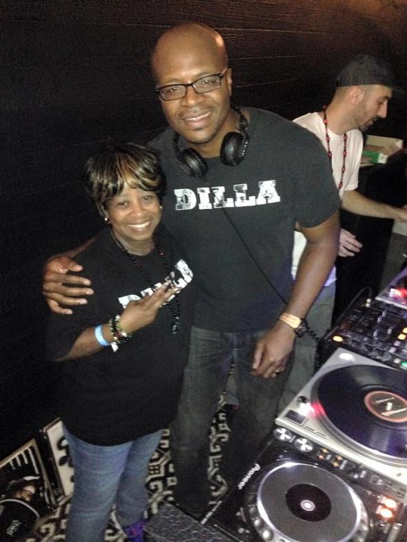 DJ Brian Jones with Ma Dukes