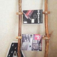 Лестница-стеллаж: красиво и практично!