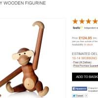 Деревянная обезьянка Кая Бойесена