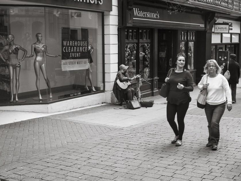 Lincoln Streets - Hughstreet Busking
