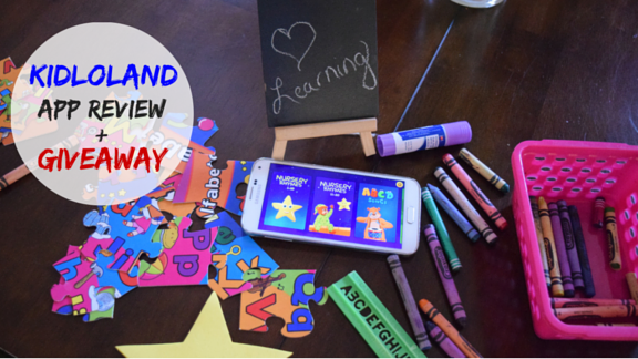 KidloLand Toddler App Review + A Giveaway