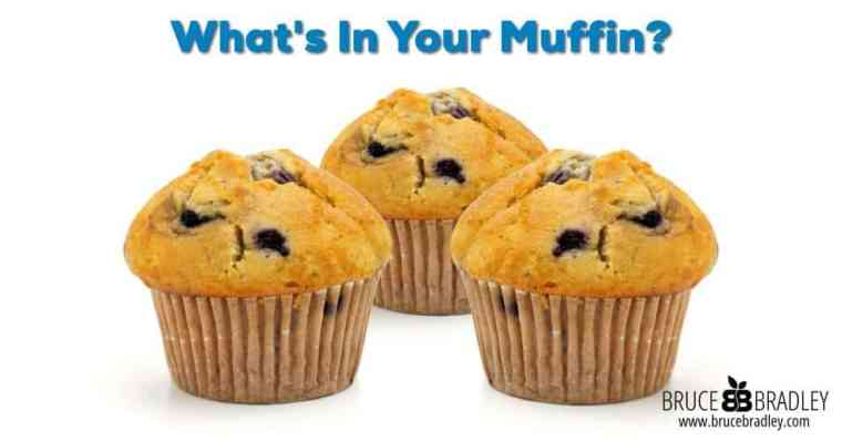 Are muffins healthy? And what's really in your muffin? Unfortunately most muffin mixes and pre-made muffins are bad news.