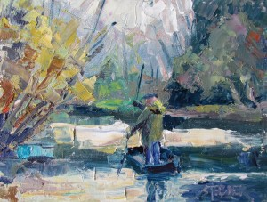 2016-14-art-landscapes-stebner-Punting the Marais