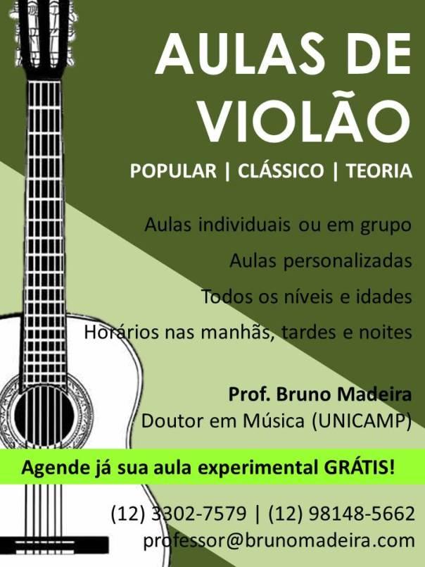 Slide1 Aulas de violão em São José dos Campos