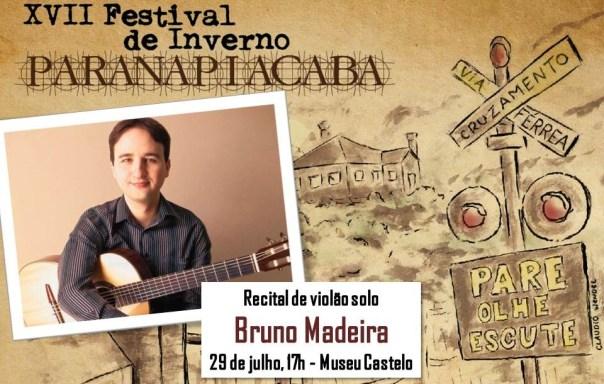 flyer paranapiacaba Recital de violão no XVII Festival de Inverno (Paranapiacaba, 29/07/17)