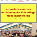 """Screenshot Twitter-Fotos der CSU-Bundestagsabgeordneten Gudrun Zollner mit einer Haiku-Strophe aus dem Poetry-Text der PolitikerInnen-Worte """"Der Flüchtlinge Welle"""""""