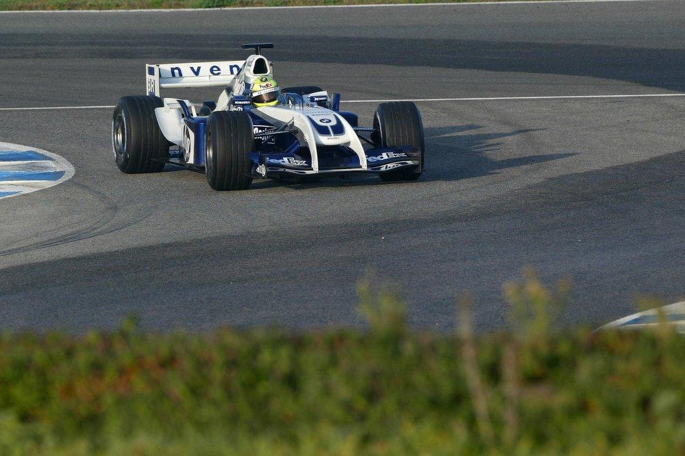 AUTO/F1 JEREZ TESTS 2004