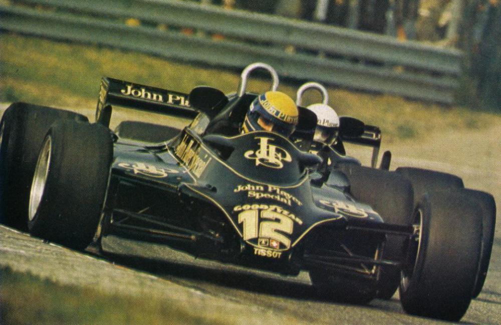 Moreno e Elio de Angelis em Zandvoort, 1982