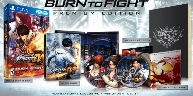 King of Fighters XIV gets premium edition
