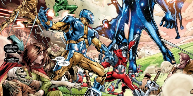 June 29th Valiant Comics Previews: X-O Manowar, Bloodshot Reborn