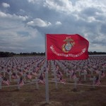 Take Time to Remember Marines Flag