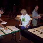 Personhood FL Volunteers Sort Petitions