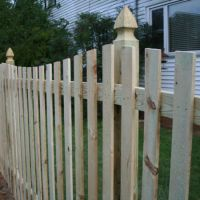 Wood Fence Panels vs Stick Built: Which is Better?