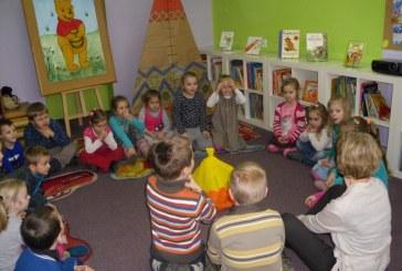 Przedszkolaki zaczytane dzieciaki